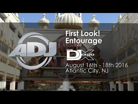 ADJ First Look! Entourage Pro Faze Machine