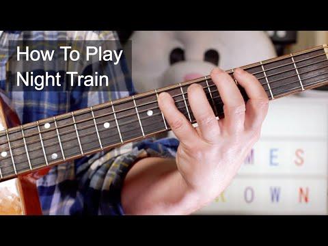 'Night Train' James Brown Guitar Lesson