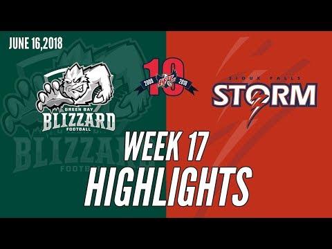 Week 17 Highlights: Green Bay at Sioux Falls
