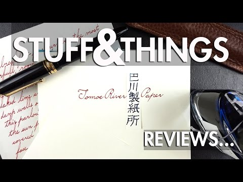 Review: Tomoe River Paper (For Fountain Pens)