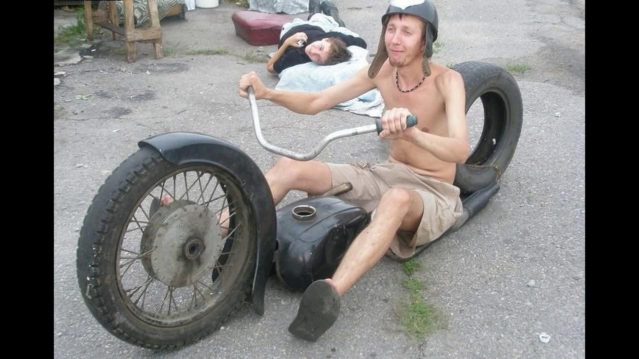 Смешные фото на мотоцикле