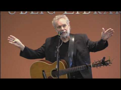 John Gorka  at Fayetteville Public Library   First 3 songs Feb 2017