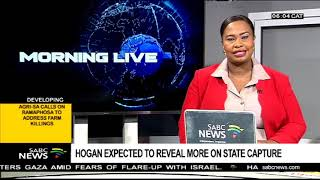 Hogan expected to reveal more on state capture
