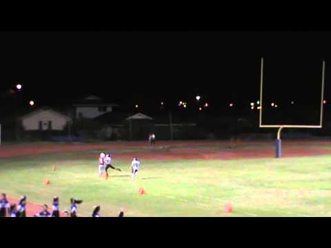 Kalani Falcons vs Pearl City Chargers Football 8/23/13