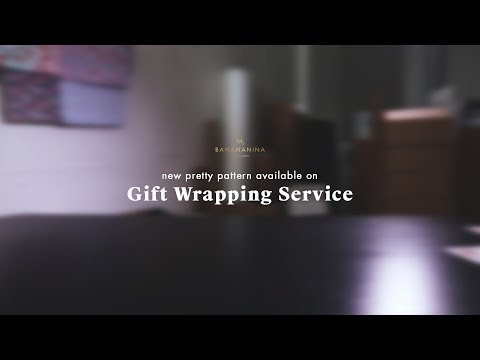 New Pattern Available on Our Gift Wrapping Service!