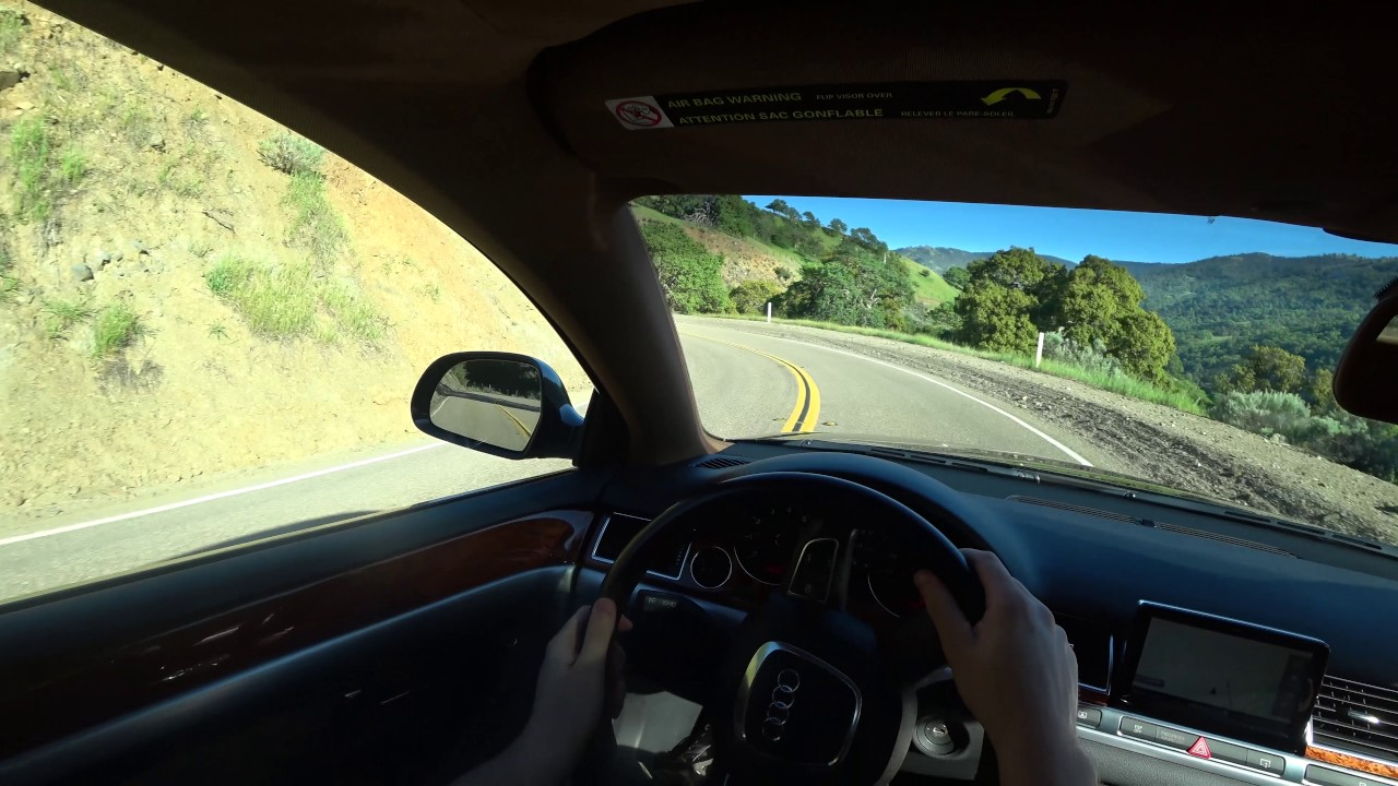 Driving Pov Audi A8l D3 4e 4 2 Fsi Quattro 2008
