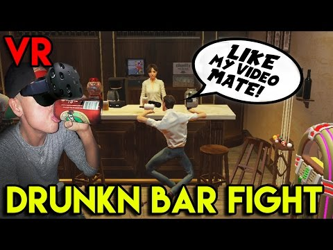 Drunkn Bar Fight VR :: My name is Beer Lee! ( HTC VIVE )