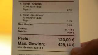 Die 200 Euro EURO 2016 WETTE (VERDOPPLUNGS-WETTE) by Maverick Berlin