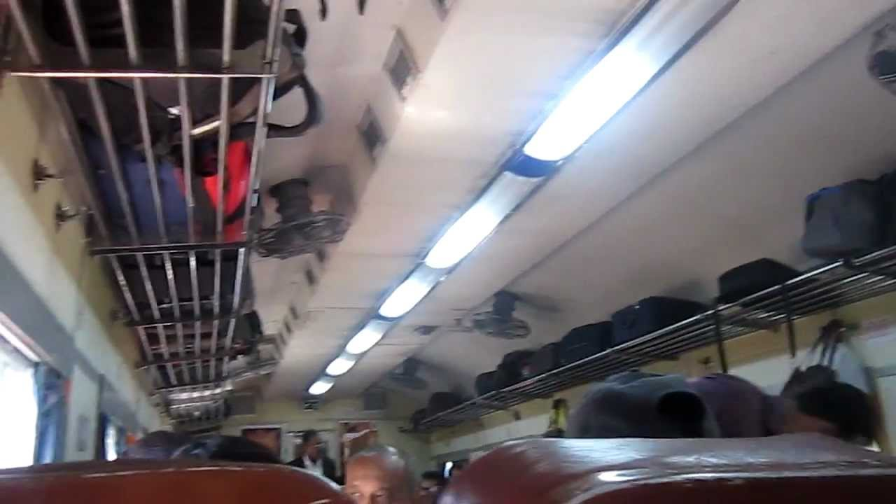Comfortable Ac Chair Car Of Coimbatore Intercity Youtube