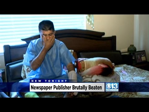 Punjabi Newspaper Publisher Brutally Beaten Inside His Home By Group Of Men