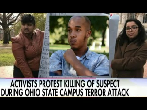 Activists Protest Killing of Ohio State Campus Attacker