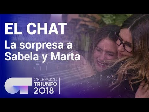 La sorpresa a Marta y Sabela   El Chat   Programa 10   OT 2018