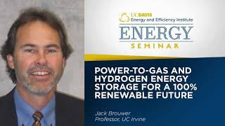 Power-to-Gas and Hydrogen Energy Storage for a 100% Renewable Future