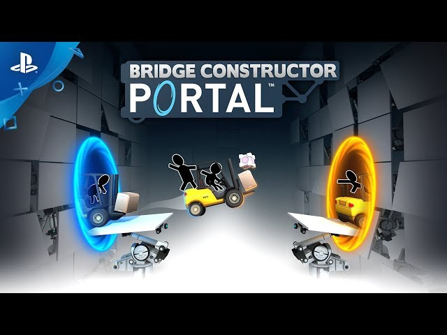 Bridge Constructor Portal - Gameplay Trailer | PS4