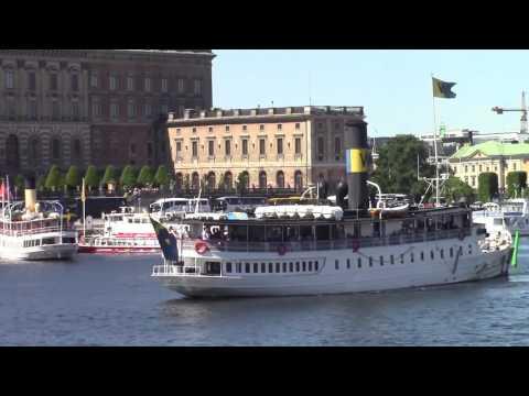 Stockholm Waterfront and Skeppsholmen Island, June 11,14 2016