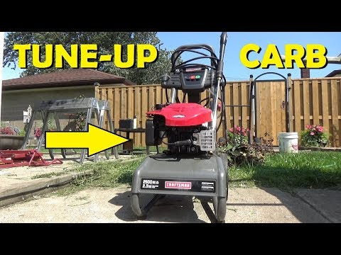 Craftsman Pressure Washer - Full Tune Up!
