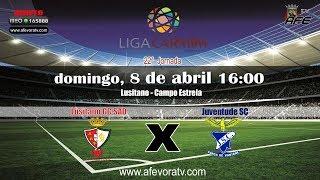 Liga CARMIM, 2017/2018, 22ª Jornada Lusitano GC SAD 2x3 Juventude SC