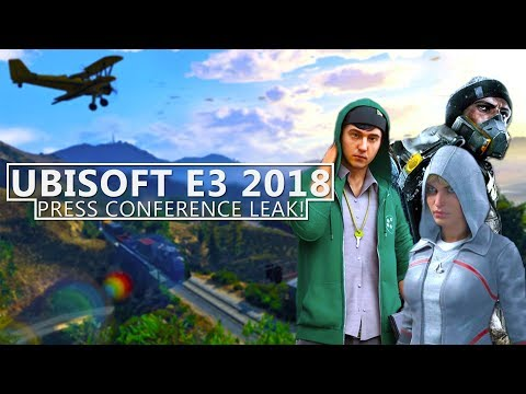 UBISOFT E3 2018 LEAKED! Assassin's Creed 2018, Watch Dogs 3 & MORE!
