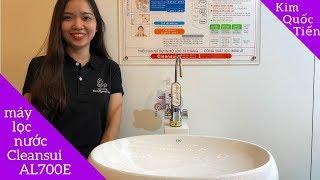 Trải nghiệm máy lọc nước Cleansui AL700E  Mitsubishi made in Japan