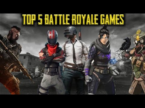 Top 5 Battle Royale Games | Games That Changes The Gaming Revolution | In Hindi