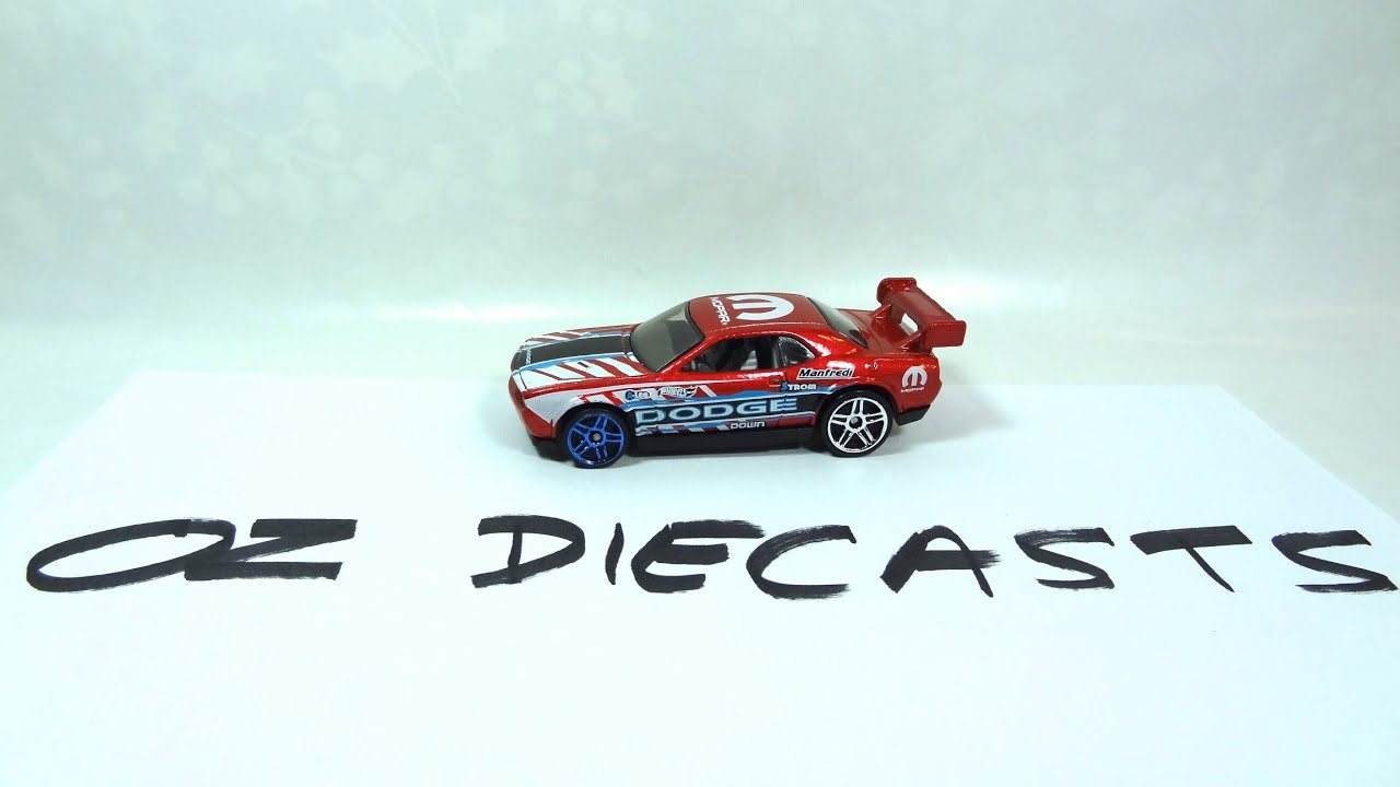 Hot Wheels Dodge Challenger Drift Car Review Youtube