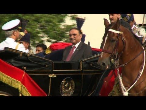 Pakistan's President Asif Ali Zardari ends term in office