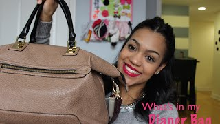 What's in my diaper bag 2015 - How to make a bag into a diaper bag