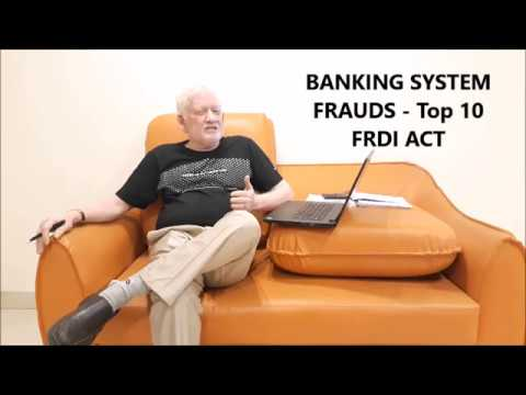 Banks, Frauds, FRDI Act 2017, Solutions