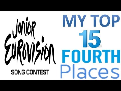 Junior Eurovision 2003 - 2017:My Top 15 Fourth Places
