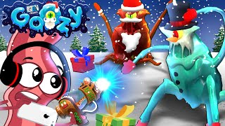 JUMPSCARE SNOWMAN?! Derpy Bacon Plays FGTEEV GOOZY (Christmas Update and New Game Mode!)