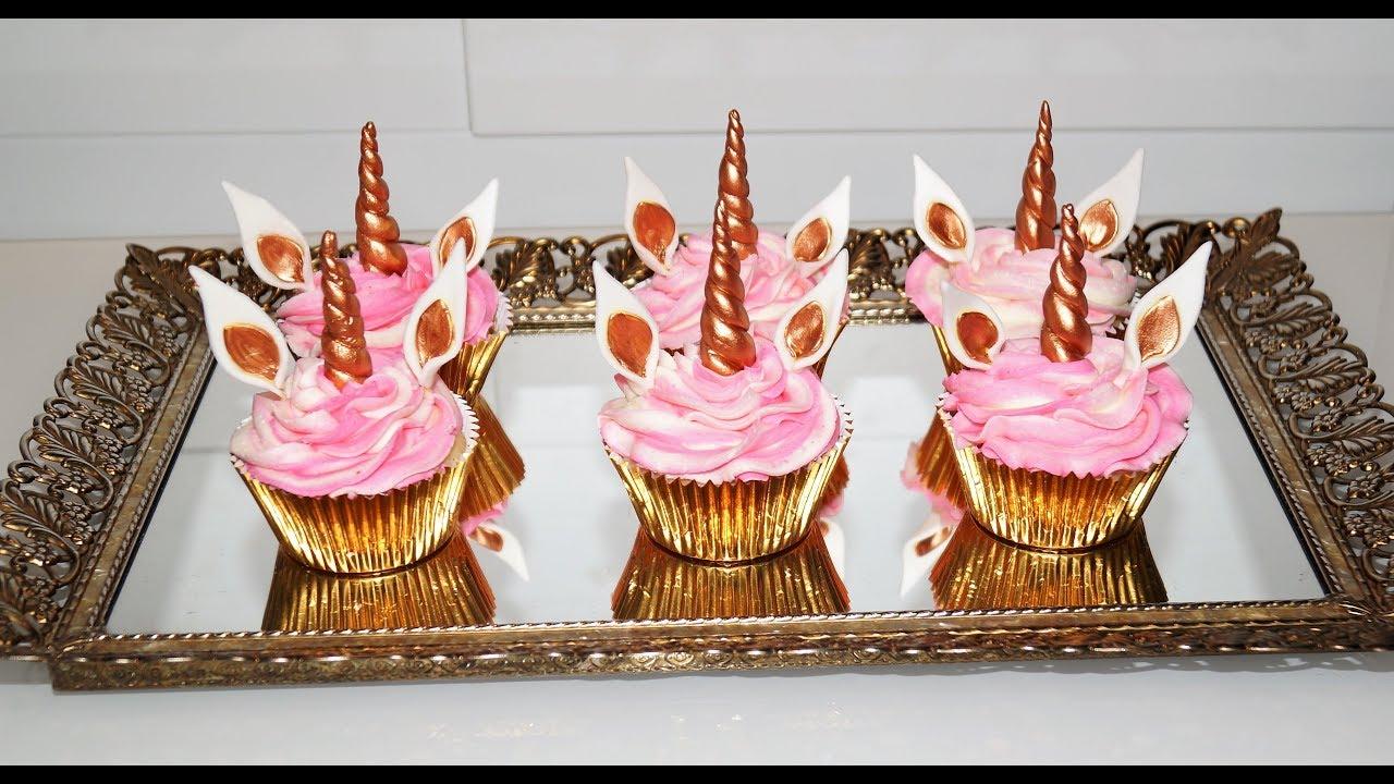 Cake Decorating Tutorials How To Make Unicorn Cupcakes With Magic