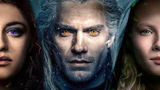 СВЯТОЙ ВЕДЬМАК от Netflix | Обзор на новые трейлеры сериала Ведьмак | Геральт Йеннифер Цири