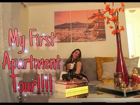 MY FIRST APARTMENT TOUR | NEW JERSEY APARTMENT TOUR 2019