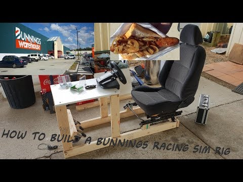 The Bunnings Racing Sim Rig
