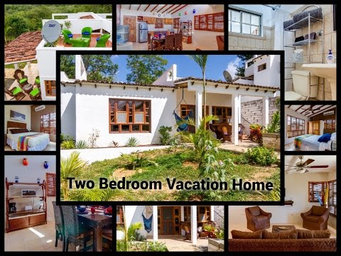 Tropical Two Bedroom Vacation Rental Home in Congo Hills, San Juan del Sur