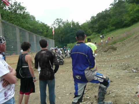 Devils staircase Ohio Hillclimb nationals ATV open class