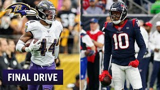 Keys for a Ravens Victory vs. Texans | Ravens Final Drive