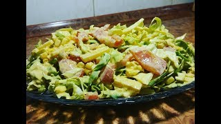 Салат из Свежей Капусты на Каждый День Быстро и Вкусно
