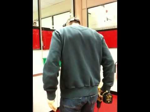 WKD advert robot  drill  funny