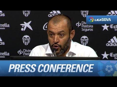 "Nuno Espirito Santo: ""Sentimos que Mestalla ha ganado este partido"" - HD"