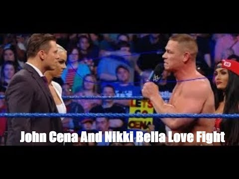 John Cena And Nikki Bella Love Fight Story 2018 - Life Time | WWE SmackDown 6 December 2017 HD thumbnail