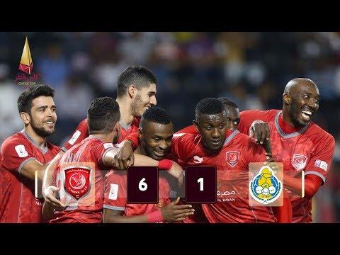 Al Duhail 6-1 Al Gharafa Semi-Final 2