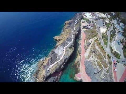 Pirates fjords in Greece - Creta drone video / Το πειρατικό φιόρδ της Ελλάδας...
