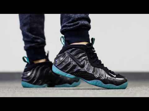 Nike Air Foamposite Pro Quot Dark Obsidian Quot Shoe Review And On