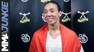 UFC Denver: Germaine de Randamie full post-fight interview