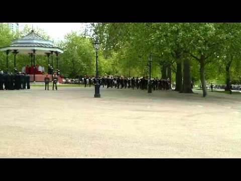 The Band of the Royal Armoured Corps /Cavalry Parade and Service Hyde Park, London 10 May15