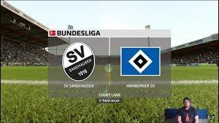 Livestream 2. Bundesliga SV Sandhausen - Hamburger SV  (18/19)