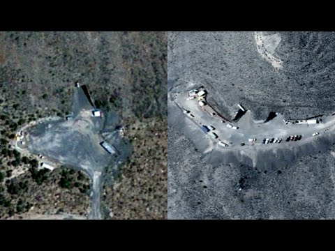 Hidden Underground Area 51 Base Entrances Discovered in Mountains (Google Earth) - FindingUFO