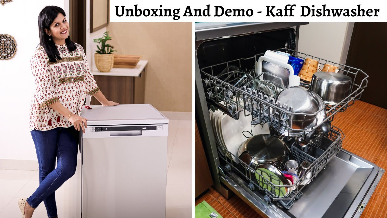 Effective And Affordable Dishwasher | Kaff DW Vetra Unboxing & Demo