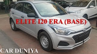 Elite i20 Era (Base) 2018 - All Features Covered